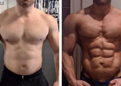 Amazing Success Before and After Bodybuilding